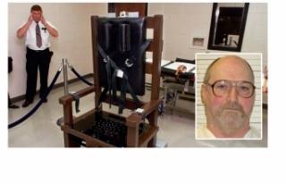 Elektrikli sandalyeyle idam edildi!