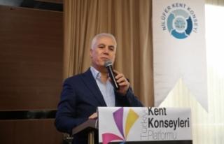 """Bozbey: """"Bursa'yı katılımcılık anlayışıyla..."""