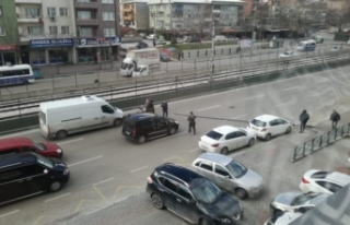 Bursa'da facia teğet geçti! Ankara yolunda...