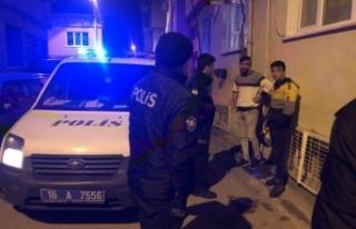 Bursa'da alkol alan 3 kardeş kavga etti