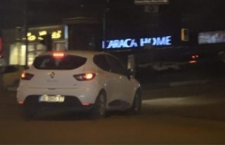 Bursa'da maganda dehşeti!Driftve makas...