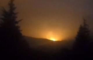 Sakarya'da korkutan patlama