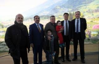Yargıtay Başkanı Cirit Fetih Müzesi'ne hayran...