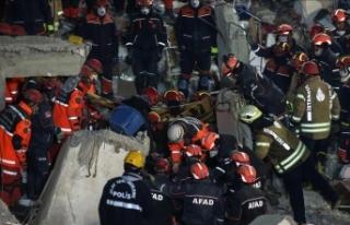 21 kişinin cansız bedenine ulaşıldı