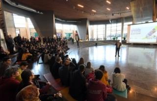 Bilim kampı öğrencilerinden Fetih Müzesi'ne...