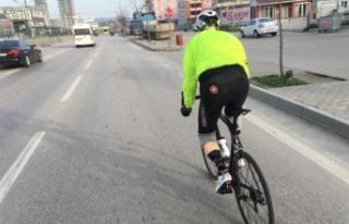 Bursa'da azmin öyküsü! Ayaklarını kaybetti...