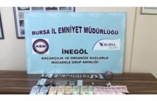 Bursa'da uyuşturucuyla yakalanan sürücü tutuklandı!