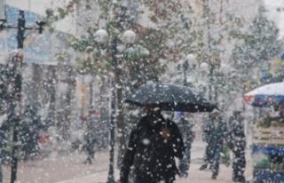 Meteoroloji'den Bursa açıklaması! Kar geri...