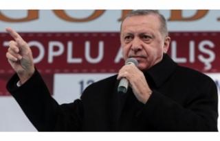 Cumhurbaşkanı Erdoğan'dan beka vurgusu!