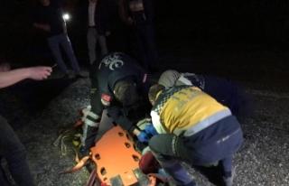 Bursa'da feci kaza! Ecel yolda yürürken yakaladı
