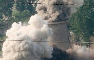 Kuzey Kore'nin ana nükleer tesisinde faaliyet...