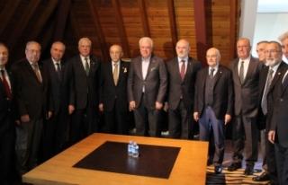 Şampiyon kulüplerin divan başkanları Bursa'da...