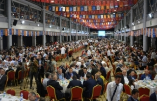 AK Parti Bursa İl Teşkilatı iftarda buluştu