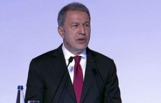 Bakan Akar'dan 'Deniz Kurdu' mesajı