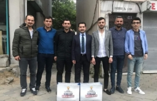 Bursa AK Gençlik'ten 'İftara 5 Kala'...