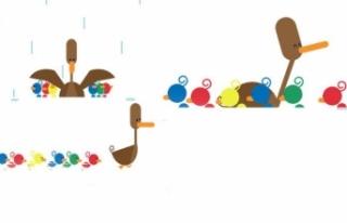 Google anneler günü için Doodle hazırladı! Anneler...