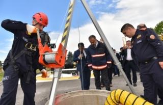 Güçlü itfaiye, daha güvenli Bursa