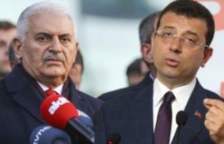 İmamoğlu'ndan Yıldırım'ı protesto...