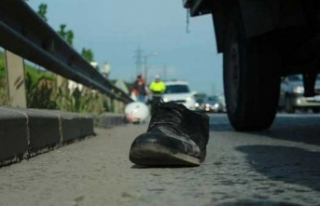Acı fotoğraf! Geriye sadece ayakkabısı kaldı