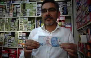 Üzerinde 10 yazıyor ama aslında 100 lira