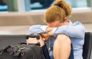 450 kişiye tatil şoku! Havalimanında öğrendiler