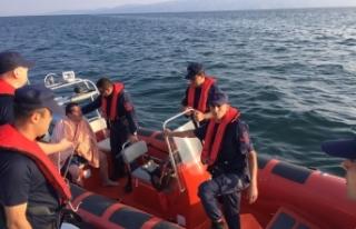 Bursa'da denizde kaybolduktan 12 saat sonra bulunmuştu!...