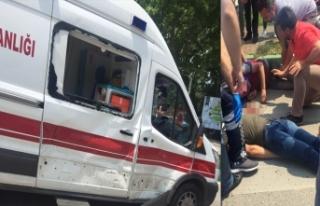 Bursa'da feci kaza! Acil hastası olduğu için...