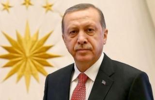 Cumhurbaşkanı Erdoğan'dan Nihat Özdemir'e...