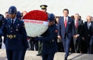 Başkan İmamoğlu Anıtkabir'de!