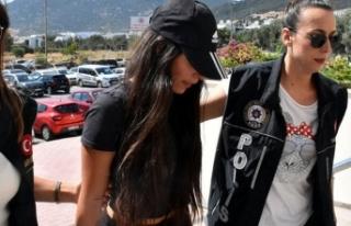 Sosyal medya fenomeni Pelinsu M., adli kontrolle serbest...
