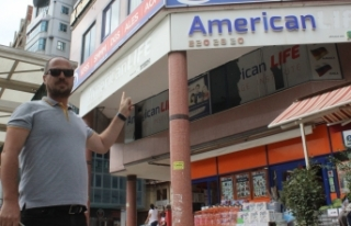 Bursa'da yabancı dil kursuna yabancı tabela...