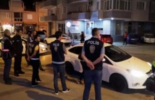 Bursa'da 150 polisle 'Huzur İnegöl'...