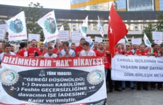 Bursa'da işten çıkarılan işçilere destek!