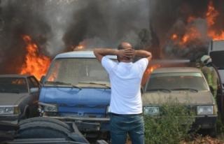 Bursa'da 24 aracın yanmasına sebep olmuştu:...
