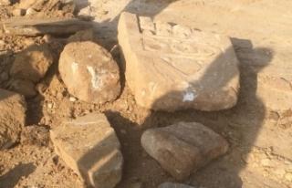 Bursa'da okul inşaatından Roma mezarı çıktı