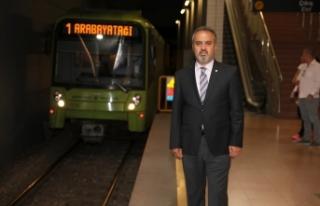 Bursa'da toplu ulaşımda konfor artıyor