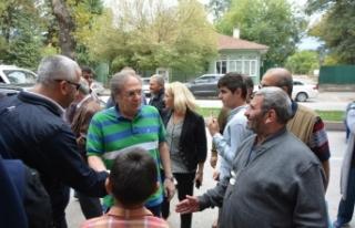 Bursa'da Saraçoğlu izdihamı