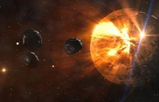 Dünya'ya çarpma tehlikesi bulunan asteroitleri...