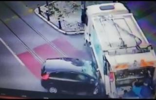 İzmir'de  feci kaza