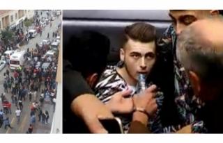 Kuaför çırağına sokak ortasında silahlı saldırı!