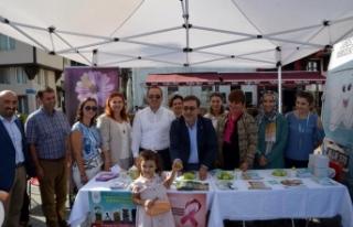 Mudanya'da sağlık sokağı kuruldu