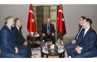Erdoğan, Ljajic'i kabul etti