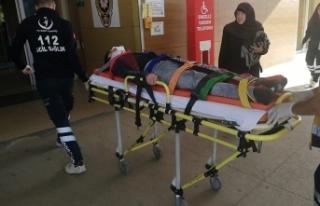 Bursa'da dehşet veren kaza: 2 ağır yaralı