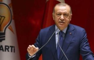 """Cumhurbaşkanı Erdoğan: """"Burası yol geçen..."""