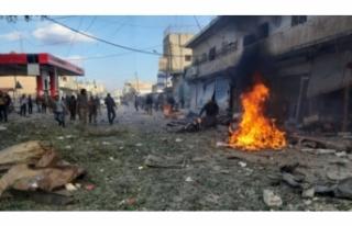 Tel Abyad'da bombalı saldırı! Çok sayıda...