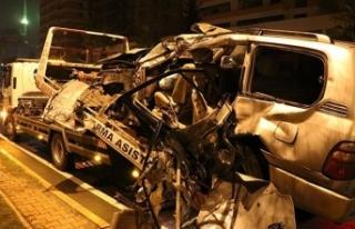Gece yarısı çok feci kaza: Ölü ve yaralılar...