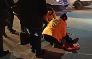 Bursa'da feci kaza! Servis şoförüne TIR çarptı!