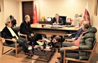 Yalova Valisi'nden  Bursa'ya hastane ziyareti
