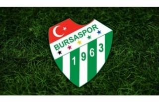 Bursaspor'dan Fatih Terim'e geçmiş olsun...