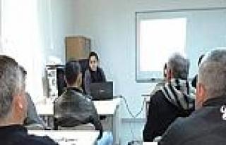 25 Hükümlüye 'girişimcilik' Eğitimi Verildi